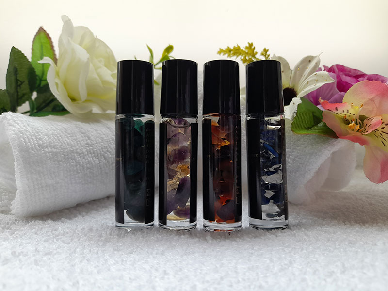 Fire Garnet Aromatherapy Roll-on Oil Bolton Manchester